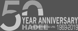Hadee 50th Anniversary Logo